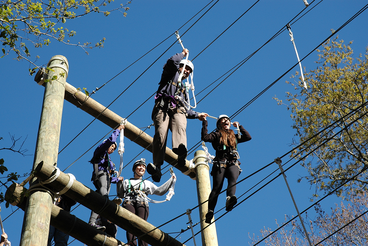 Adventure Challenge Ropes Course  Epworth by the Sea